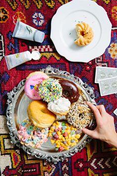 Fancy donuts