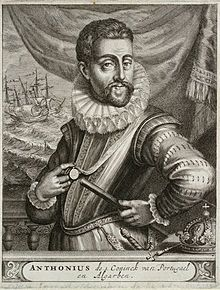 Antonio, Prior of Crato (1531-1595), claimant to the throne of Portugal