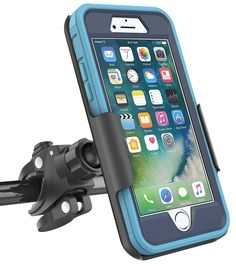 """Bike Mount for Otterbox Defender Series - iPhone 7 (4.7"""") Encased Products (case is not included). Compatible with the Otterbox Defender Series - iPhone 7 (4.7"""") (case not included). FULL ACCESS to your phone screen, buttons and all functions, all while securely mounted. Unobstructed camera cutout enables video recording while riding. 360 Degree Rotation With Easy And Secure QUICK-RELEASE Installation. Add to cart to experience the Encased difference. The Trust goes beyond our products…"""
