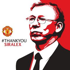 Sir Alex Ferguson the legend... http://#thankyousiralex