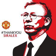 Sir Alex Ferguson the legend... http://#thankyousiralex