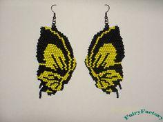 20 Off  Earrings Butterfly effect  Elegant Hand by FairyFactory, €25,00