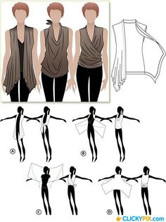 13 DIY Clothing Refashion Ideas with   Picture Instructions