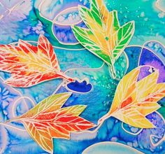 Hey, y'all! I'm in the middle of lesson planning for some upcoming fall-themed projects in the art room. Since mythird graders are getting ready to embark on the above printed leaves project, I thoug
