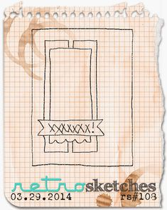 retro sketches : a challenge: retrosketches #108...