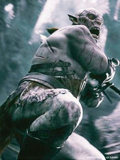 Azog - even though I hate him probably more than any character ever, I must admit he's a very formidable villain