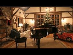 """""""Rudolph/Merry Christmas"""" - The Piano Guys.  An arrangement to learn if you ever get bored playing it the regular way.  :)"""