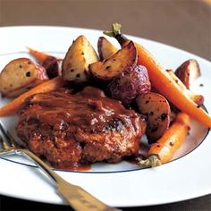 Superfast Salisbury Steak | MyRecipes.com