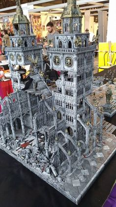 Pin by Rafael Bejar on Miniatures Warhammer Terrain, Warhammer 40k Art, Warhammer Models, Warhammer 40k Miniatures, Warhammer Fantasy, Game Terrain, 40k Terrain, Wargaming Terrain, D&d Dungeons And Dragons