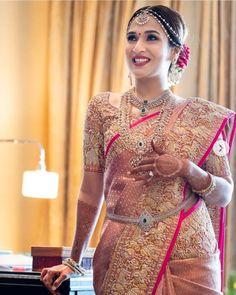 Soundarya Rajnikanth's Bridal Looks Are Perfect For Inspiring South Indian & Fusion Brides! Soundarya Rajnikanth's Bridal Looks Are Perfect For Inspiring South Indian & Fusion Brides! South Indian Bridal Jewellery, Indian Bridal Sarees, Bridal Silk Saree, Indian Bridal Outfits, Indian Bridal Fashion, Bridal Lehenga, Saree Wedding, South Indian Bride Saree, Indian Jewelry