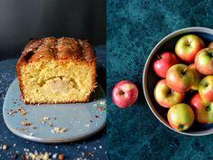 Sunken Cardamom Apple Cake