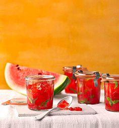 Minze - Melonen Marmelade, ein sehr schönes Rezept aus der Kategorie Kochen. Bewertungen: 14. Durchschnitt: Ø 3,8.