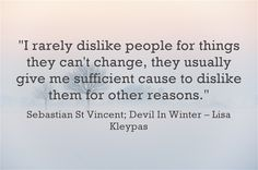 Sebastian & Evie - Devil in Winter (Wallflowers Meaningful Words, Evie, Armchair, Writer, Give It To Me, Lisa, Quotes, Books, Historical Romance