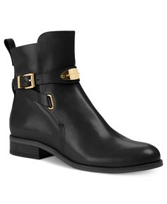A lower heel is great when you have to walk all over NYC or London.  I did last summer and wore a boot just like this!