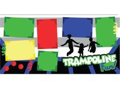Trampoline Fun by ScrapbookConcierge on Etsy