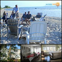Bayside Sunset is a classic Michigan beach house set on a private, wooded lot within walking distance of East Bay on Lake Michigan. Contact the owner directly for booking:   #bookdirect #lakemichigan #beachhouse #lakefront #vacationrental #travel