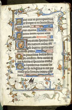 Book of Hours, MS M.754 fol. 3r - Images from Medieval and Renaissance Manuscripts - The Morgan Library & Museum