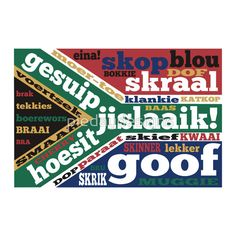 South African slang and colloquialisms T-shirt by mailboxdisco - Black - LARGE - Mens Fitted Tee South African Flag, African Image, Green And Gold, Red Green, Computer Sleeve, Cartoon Jokes, Custom Laptop, My Land, Coloring Pages