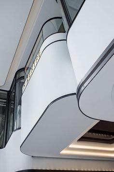 Atrium Design, Facade Design, Commercial Design, Commercial Interiors, Architecture Details, Interior Architecture, Shopping Mall Interior, Organic Structure, Mall Design