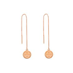Ohrringe Mini-Disc CLOVER, lang - Art.-Nr.: OH4257-Clover #Leafschmuck #Leafjewelry #jewelry #rose #rosé #gold #fashion #style #stylish #cute #beautiful #beauty #jewelry #jewels #jewel  #fashion #gems #gem #gemstone #bling #stones #stone #trendy #accessories #love #crystals #ootd #fashionista #accessory #fashionjewelry #earrings