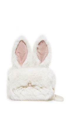 Kate Spade New York Faux Fur Bunny Shoulder Bag