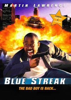 Blue Streak Used DVD Starring Martin Lawrence and Luke Wilson. Movie was released in Shop now for a great selection of Comedy Used DVDs for sale. All with Free UK delivery and no minimum spend required. Streaming Hd, Streaming Movies, Hd Movies, Movies Online, Movies And Tv Shows, Movie Tv, Dvds For Sale, Blu Ray Collection, Blue Streaks