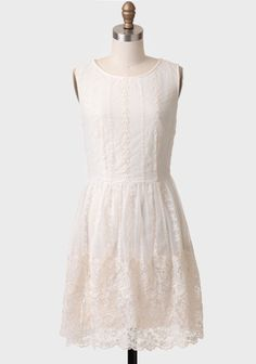 Townsend Embroidered Lace Dress at #Ruche @Ruche