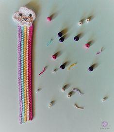 Ravelry: Rainbow Bookmark pattern by Yum Yarn Crochet Bookmark Pattern, Crochet Bookmarks, Crochet Patterns, Ravelry, Rainbow, Crafts, Inspiration, Tejidos, Amigurumi