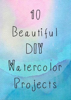 """"""""""" The Beginner's Guide to Watercolor Supplies — Artist Lydia Makepeace """""""" 10 DIY Watercolor Projects """""""" Watercolor Beginner, Watercolor Paintings For Beginners, Watercolor Art Lessons, Painting Lessons, Watercolor Techniques, Painting Tips, Painting Flowers, Water Color Painting Easy, Beginner Painting"""