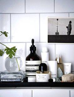 The Latest Bathroom Design Trends are Functional and Fantastic - bathroom Bathroom Furniture, Bathroom Interior, Interior Design Living Room, Living Room Decor, Serene Bathroom, Master Bathroom, Rental Bathroom, Bathroom Tray, Interior Livingroom