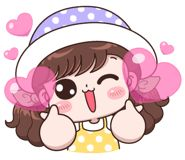 Boobib Lovely Daily (No Text Version) Cute Cartoon Pictures, Cute Cartoon Girl, Cute Love Pictures, Cute Love Cartoons, Cartoon Pics, Girl Cartoon Characters, Cute Characters, Cute Little Drawings, Cute Drawings