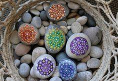 ideas de decoración y reciclaje natural mandalas