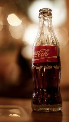 ...an ice cold bottle of Coke...