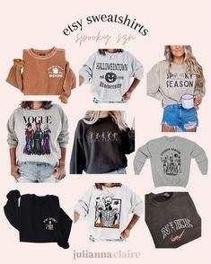 Etsy spooky szn sweatshirts #LTKunder50 #LTKSeasonal #LTKstyletip