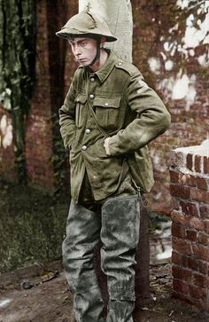 British tommy ww1 , poor lad