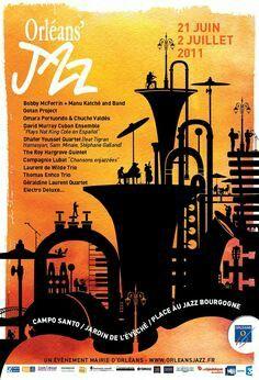 Orléans' jazz poster