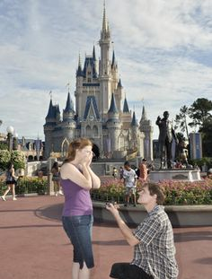10 Most Romantic Places To Propose At Disney | Photo by: Silver Image | TheKnot.com