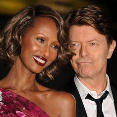 Iman Tweets Before The Death of Her Beloved David Bowie ...