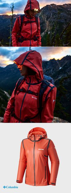 Cloudy, windy and rainy? In Oregon, that's what we call perfect hiking weather. Our OutDry™ Ex Stretch Hooded Shell has been tested tough against every wet and miserable condition a spring day showers upon us. It's fully seam sealed with a tough waterproof layer outside and a soft wicking breathable fabric inside. So no matter how long you're out on the trail, the rain isn't getting in.