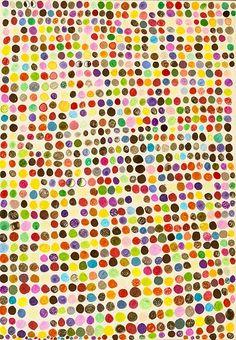color dots // puntos de colores