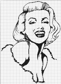 Gallery.ru / Фото #101 - Схемы Ирины Шерстобитовой - Olgakam Filet Crochet, Crochet Chart, Easy Crochet Patterns, Cross Stitching, Cross Stitch Embroidery, Cross Stitch Patterns, Plastic Canvas Stitches, Plastic Canvas Patterns, Blackwork