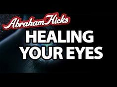 Abraham Hicks - Healing Your Eyes Meditation, Abraham Hicks Quotes, Secret Law Of Attraction, Inspirational Videos, I Feel Good, Positive Thoughts, Self Help, Healing, Wisdom
