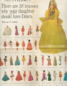 Dawn doll ad