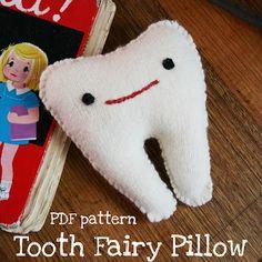DIY Tooth Fairy Pillow PDF Pattern