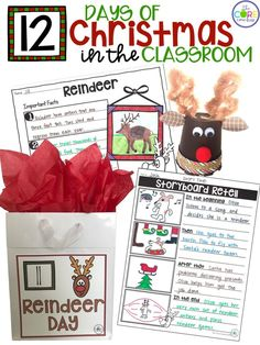 Reindeer themed activities for the entire day!
