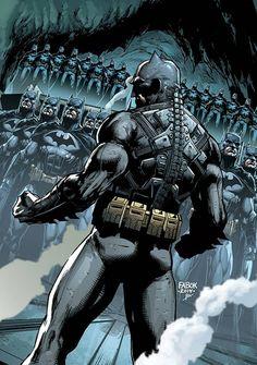 Futures End: Batman by Jason Fabok * Comic Book Artists, Comic Book Characters, Comic Artist, Comic Books Art, Batman Artwork, Batman Wallpaper, Heros Comics, Dc Heroes, Arte Dc Comics