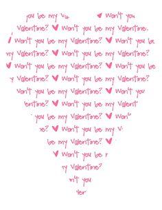 Sugar and Shimmer: Freebie Valentine's Printables
