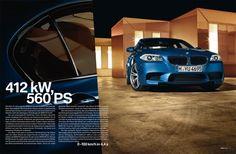 BMW Magazin BMW M5 - Agentur: Ring Zwei, CD: Dirk Linke