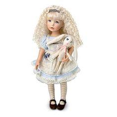 """Dianna Effner """"Alice"""" The Alice In Wonderland-Inspired Child Doll by Ashton Drake"""