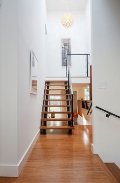Rénovation escalier contemporain